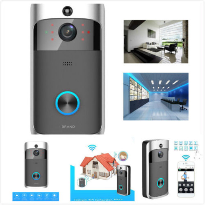 WiFi Ring Doorbell Smart Wireless Bell Camera Video Phone Intercom video door bell Home Security