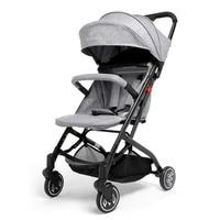High Quality Baby Stroller Folding Baby Carriage 2 in 1 Pram Carriage Pushchair Plus Sleeping Basket Bidirectional Baby Buggy