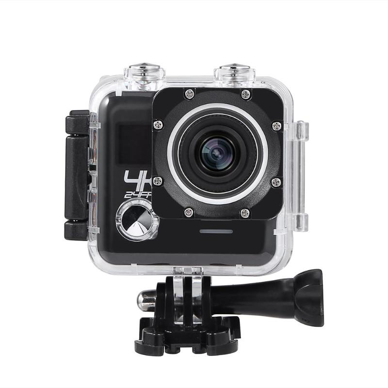 ALLOYSEED Outdoor Action Camera 4K 24FPS/2K 30FPS WiFi Sports Video Camcorder Waterproof Video Camer
