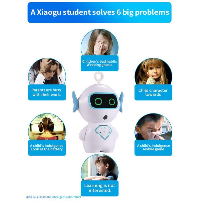 D'apprentissage Anglais Intelligent Robot Interactif Éducation Préscolaire Robot Voix Interactive Wifi Histoire Machine Robot - 3