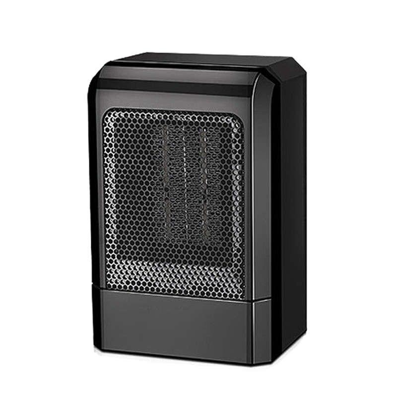 MINI calentador de cerámica portátil de 500 W, ventilador eléctrico caliente, calentador de invierno en casa (enchufe de EE. UU.) AC220-240V 6 orificios de Gas de la estufa de pulso de la chispa de encendido eléctrico piezas del calentador de agua seguro de alta calidad