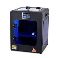 HUAFAST HS Mini diy desktop 3d Printer new imprimante3d reprap prusa i4 i3 xyz printing impression machine 3d resume metal frame