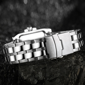 Image 4 - MEGIR Original Luxury Men Watch Stainless Steel Mens Quartz Wrist Watches Business Big Dial Wristwatches Relogio Masculino 2018