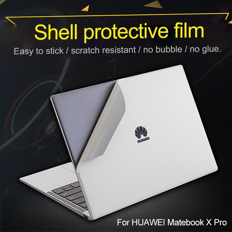 Protect Sticker Skin Shell flim For Huawei MateBook X-Pro 13.9 inch notebook Easy To Stick Fuselage shell pack free shipping
