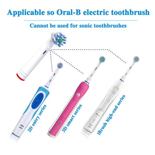 Oral B Electric Toothbrush Heads 3