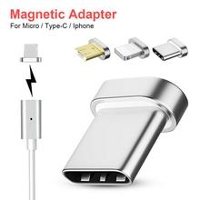 Buy Magnetic Transfer Connector Magnetic Micro USB Connector Adapter Data Transmission And Charging Android Type-c IPhone Equipment directly from merchant!