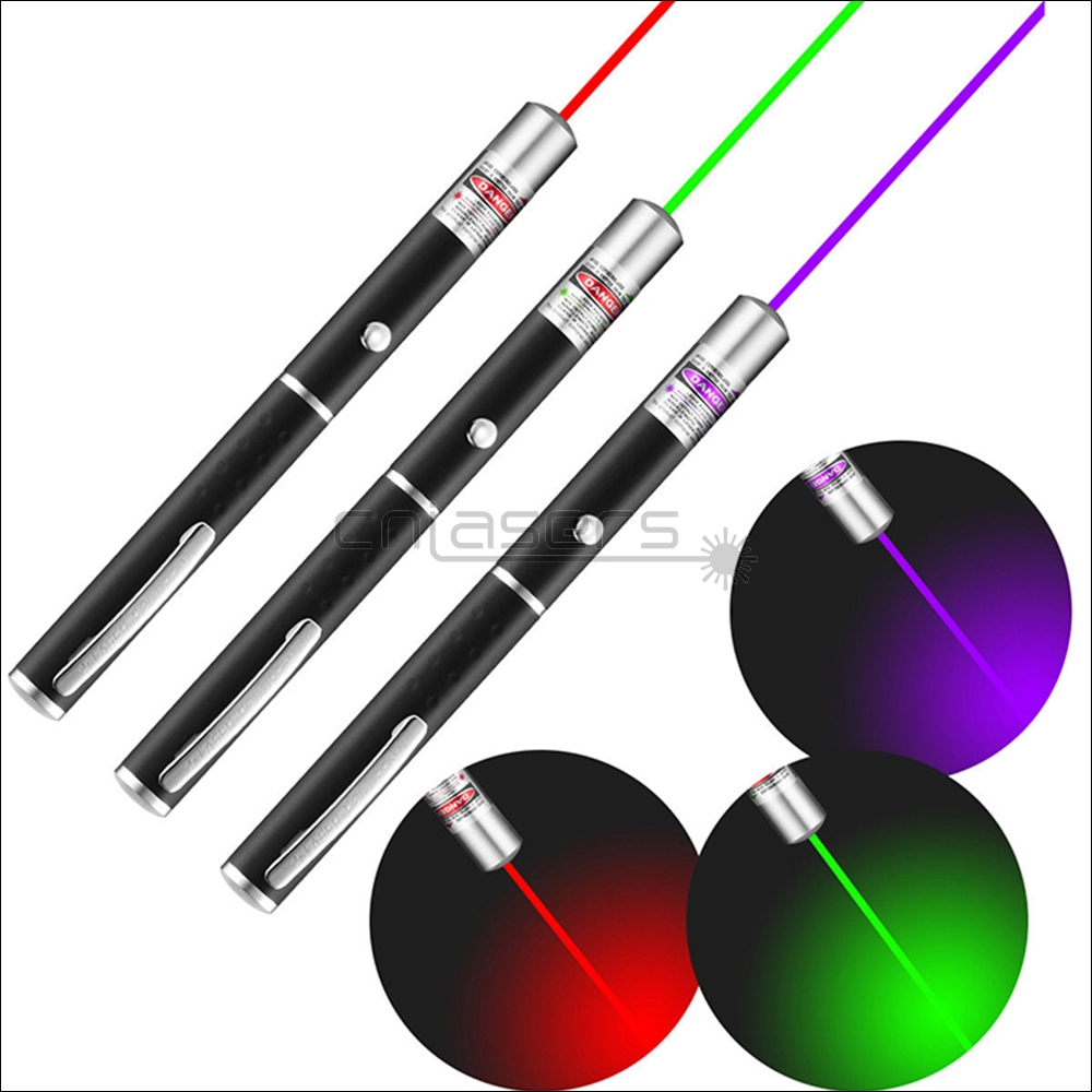CNILasers P1 Visible Green Laser Pointer Red Lazer Torch Purple Laser Beam Blue violet Laser Pen For Cat Catch Teasing Training