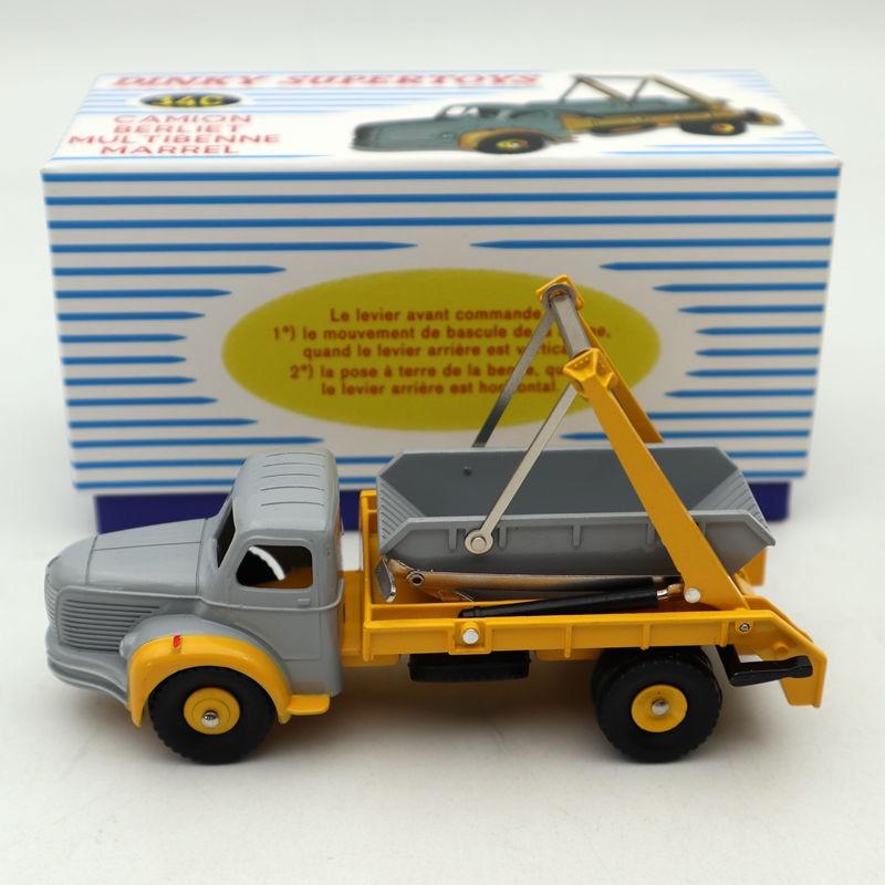 Atlas Dinky Toys Camion Berliet Multibenne Marrel 34C Diecast 1 43 Scale Models