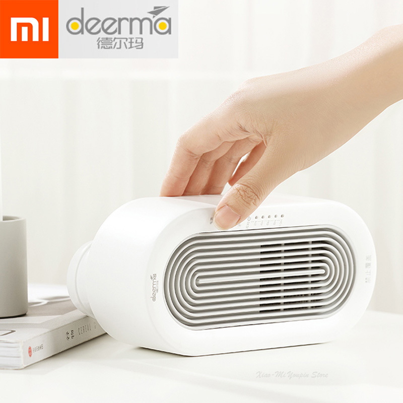 New Xiaomi Deerma 250w Electric Mini Fan Heater Desktop Home Office Heating Stove Radiator Warmer Machine For Cold Winter