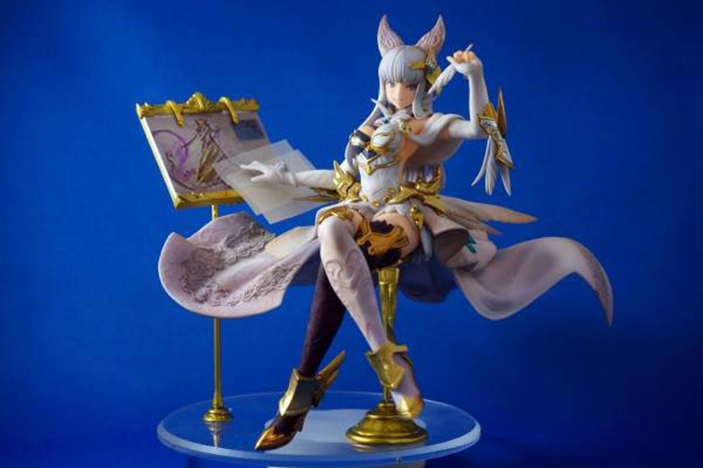 Resin Figure Kit 1 7 Granblue Fantasy Korwa Garage Resin Kit
