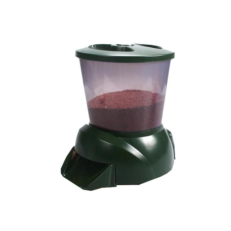 Automatic Fish Feeder - Pond Aquarium Fish Tank LCD Display Quantitative Feeding Machine Programmable Food Dispenser TimerAutomatic Fish Feeder - Pond Aquarium Fish Tank LCD Display Quantitative Feeding Machine Programmable Food Dispenser Timer
