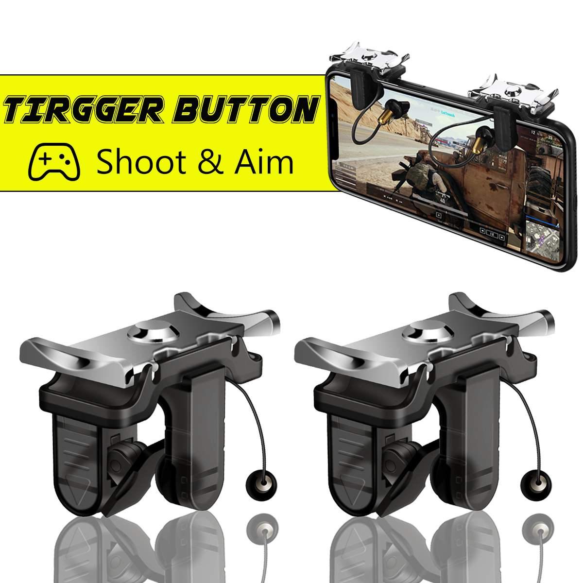 Videospiele Für Pubg Mobile Gamepad Joystick Gaming Trigger Sechs-finger Verknüpfung L1r1 Shooter Controller Spiele Taste Ziel Schlüssel Für Smartphone Unterhaltungselektronik
