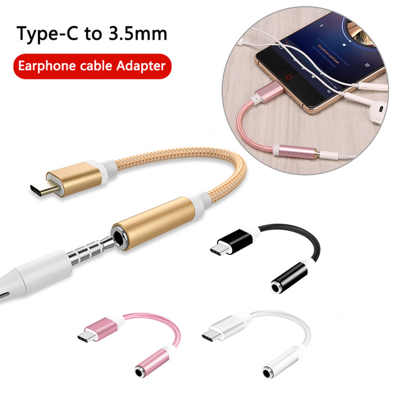 Mini Usb Type-C To 3.5mm Headphones Adapter Aux For Huawei P20 Lite Pro Samsung Galaxy S8 S9 Plus Splitter Accessories Tipo C