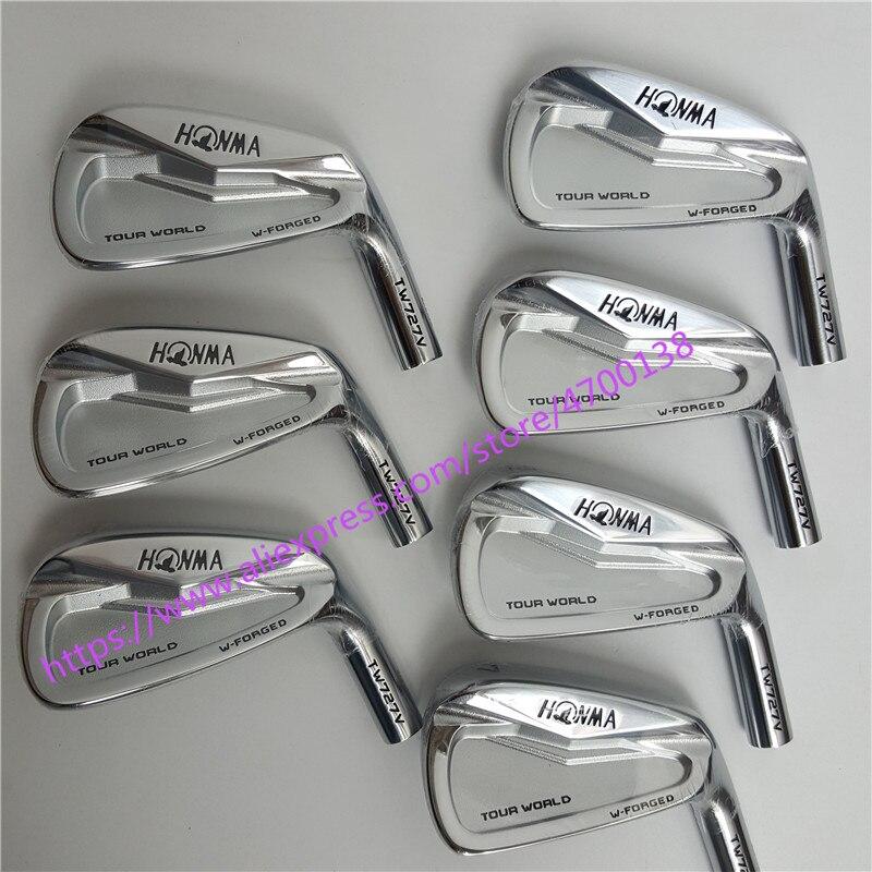 Fers de Golf Clubs de Golf HONMA 727 v groupe de fer 4-10 w (7 pièces) arbre de Golf en acier et tête de Golf livraison gratuite