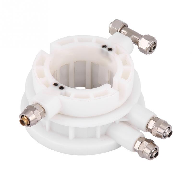 Nylon white Tyre Tire Changer Rotary Coupler Coupling Air Valve  Ø50mm