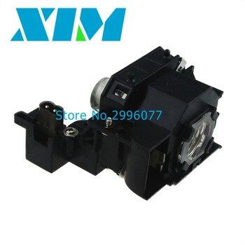 Высокое качество Замена лампы проектора с корпусом для EPSON ELPL44 MovieMate 55 EH-DM2 MovieMate 50 EMP-DM1 проекторы