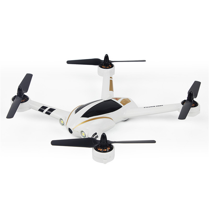 XK X252 5 8G FPV With 720P 140 Degree Wide Angle HD Camera Brushless Motor Highlight LED Lights 7CH 3D 6G RC Quadcopter RTF ZLRC in RC Helicopters from Toys Hobbies