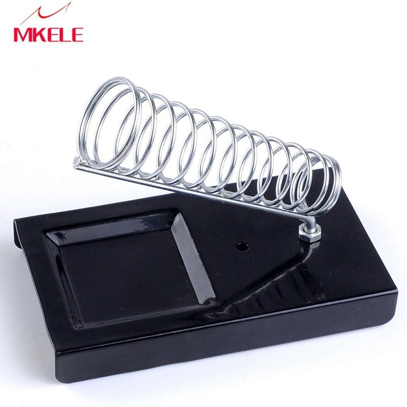 Soldering Iron E 010 Support Stand Holder Base Metal Rectangle Solder Station Safety Protecting Hot Sale in Electric Soldering Irons from Tools