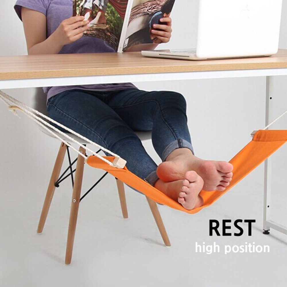 Desk Feet Hammock Foot Chair Care Tool The Foot Hammock Outdoor Rest Cot