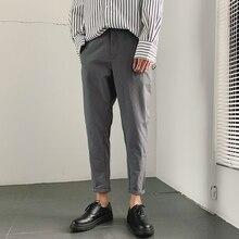 2019 Primavera E Lestate Nuova Versione Coreana Di Stile Cinese degli uomini di Harlan casual Sport di Colore Solido Incontri di Alta  Pantaloni di qualità