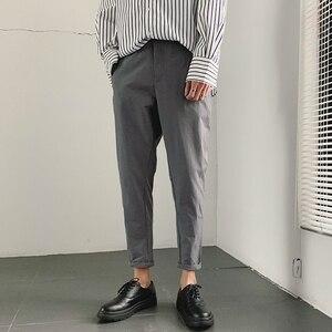 Image 1 - 2019 primavera e verão nova versão coreana do estilo chinês harlan casual esportes cor sólida namoro calças de alta qualidade