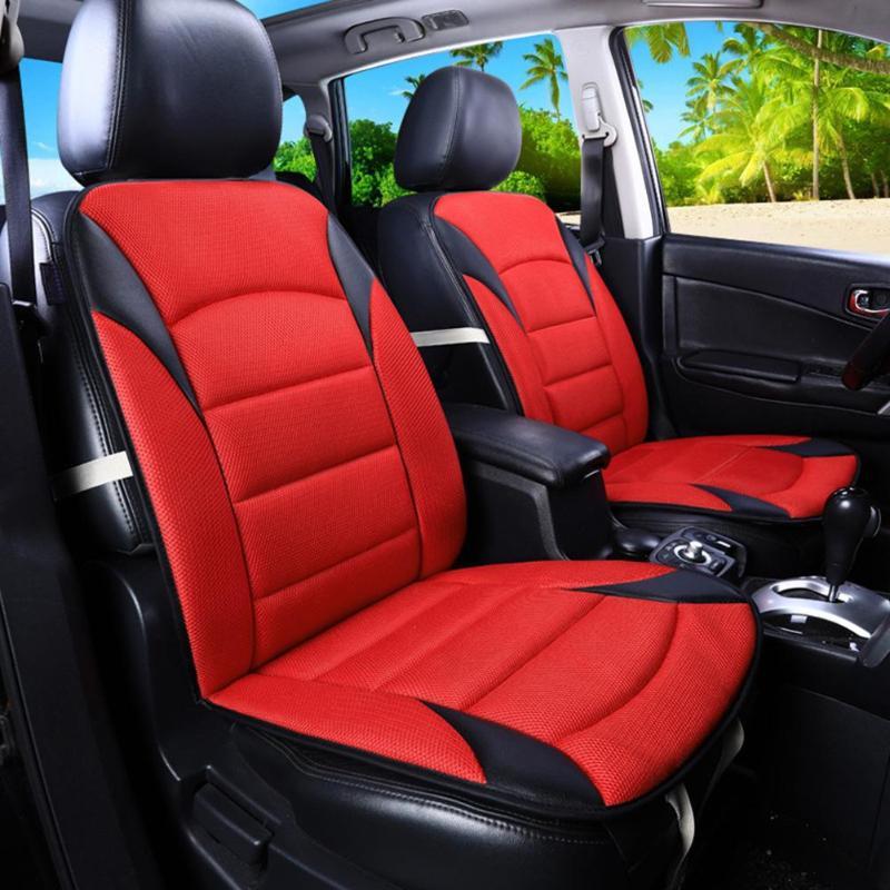 Universal Almofada Do Assento de Carro Almofada Do Assento Auto Tampa da Queda do Inverno Quente Respirável Protetor de Frente Para Trás Capas de Almofada Do Assento Do Carro Styling