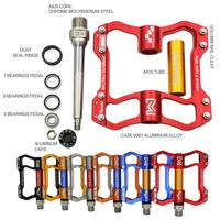 MTB CNC Ultralight Hollow Pedals Mountain Road Bicycle Cycling Footrest Bike Aluminum Alloy Foot Pedals