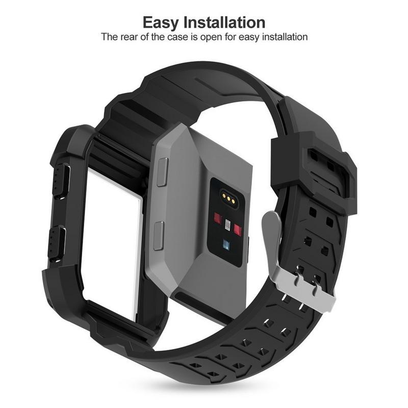 Image 3 - Silicone Soft Sports Watch Band TPU Resilient Breathable Replacement Strap Lightweight Durable Wrist Bracelet For Smart Watches-in Smart Accessories from Consumer Electronics