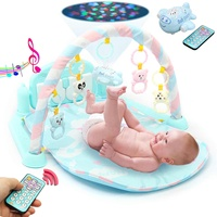 Baby Play Mat Gym 3 in1 Newborn Infant Baby Musical Piano Play Mat Blanket Kids Activity Carpet