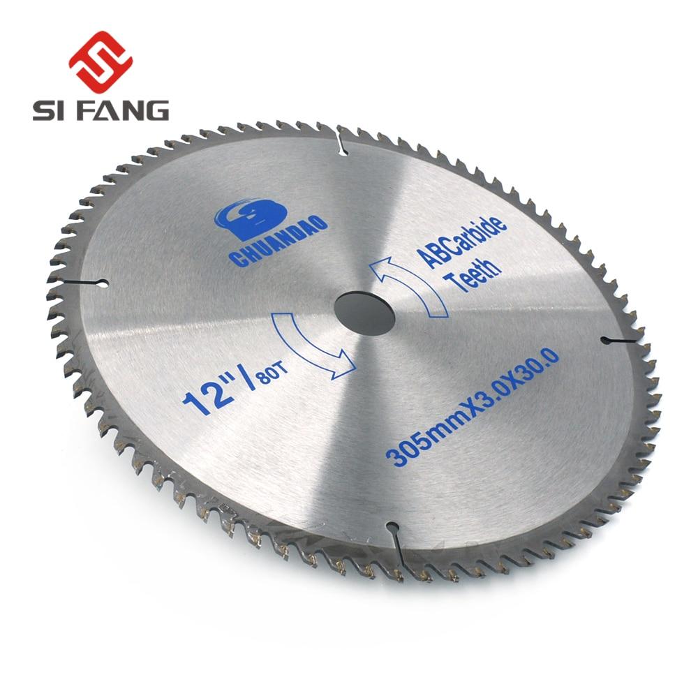 "1Pc 12/"" Carbide Circular Saw Blade Wood Cutting Disc Cutter Tool 100T Tooth"