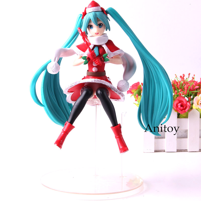 Christmas Hatsune Miku.Us 13 57 23 Off Super Premium Figure Hatsune Miku Christmas 2018 Miku Hatsune Figure Action Collection Model Toys In Action Toy Figures From Toys
