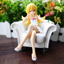 일본 액션 애니메이션 피규어 Nisemonogatari Oshino Shinobu Sofa Ver. 1/8 스케일 그림 모델 13cm Collectible Doll Xmas gift