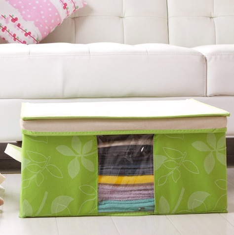 2019 Multi Leaf Fund Can Window Bana Box Superior Quality Accept Bag Accept Travel Closet Organizer Storage Bag  For Clothes-in Storage Bags from Home & Garden