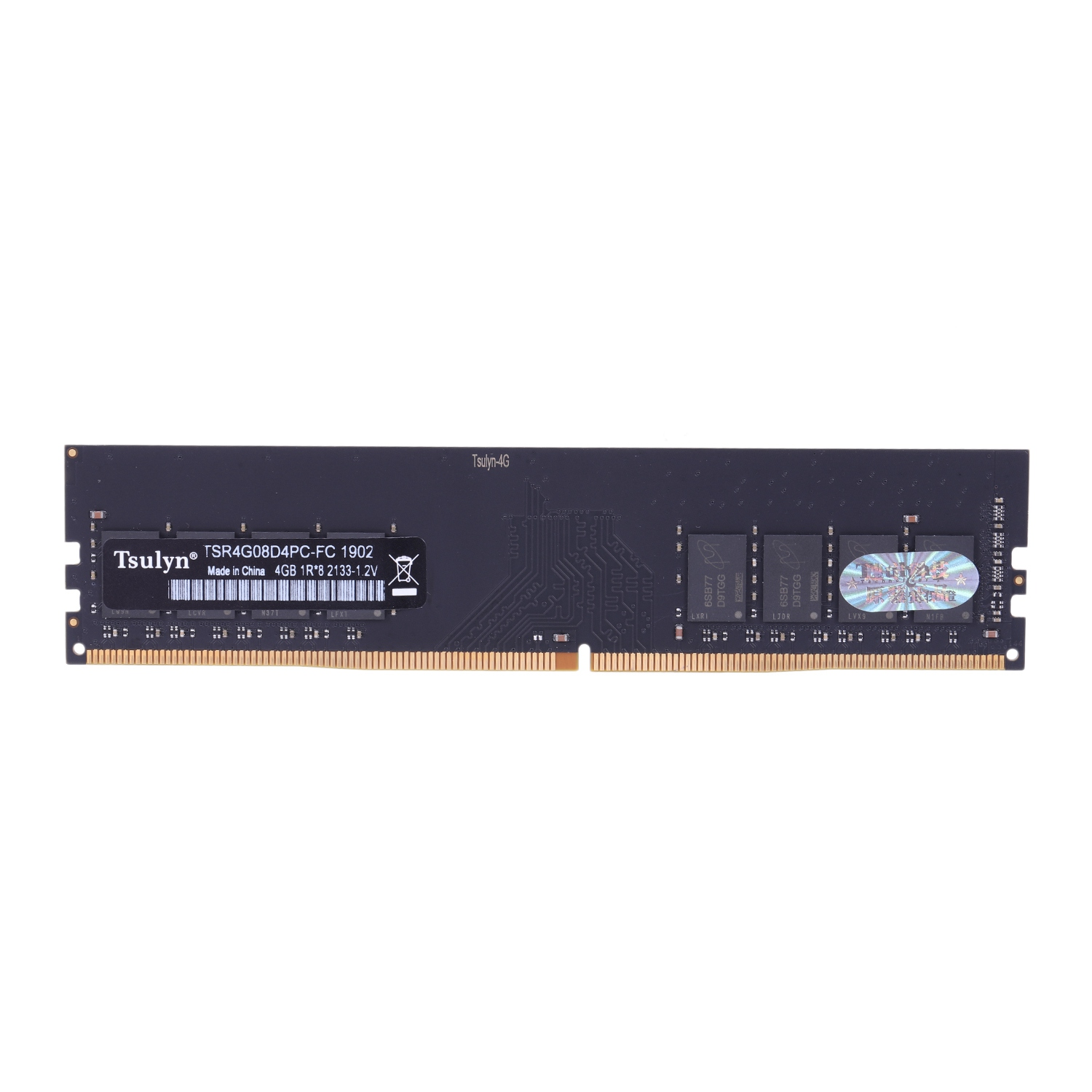 Tsulin 1.2V PC DDR4 RAM Memory DIMM 288-pin Desktop Ram Internal Memory RAM For Desktop Computer Games Ram image