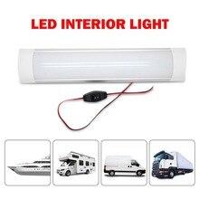 LED Interior White Strip Lights Bar Waterproof For Caravan Camper Motorhome  12V/24V 10W