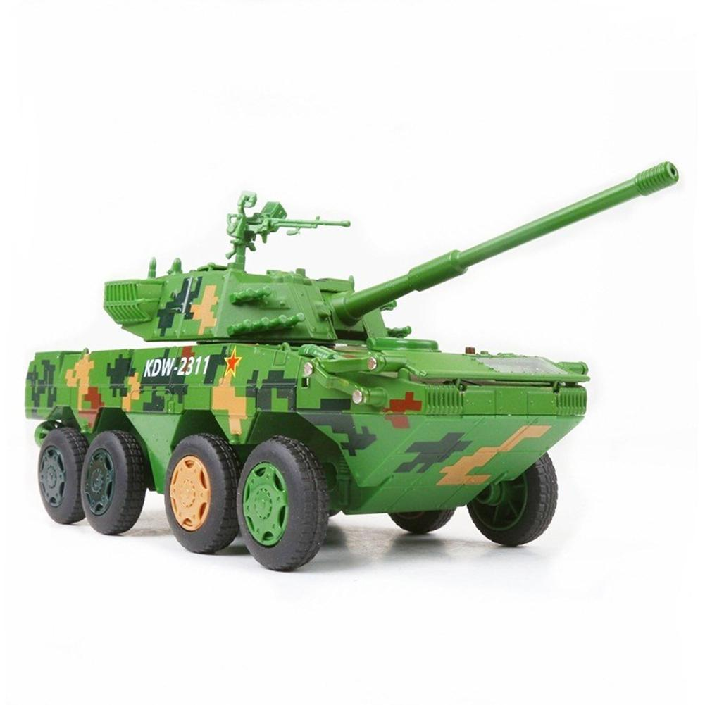 1 32 Wheel Type Armored Alloy Fighting Vehicle Toy Assault Anti tank Alloy Armored Combat Vehicle Model in Blocks from Toys Hobbies