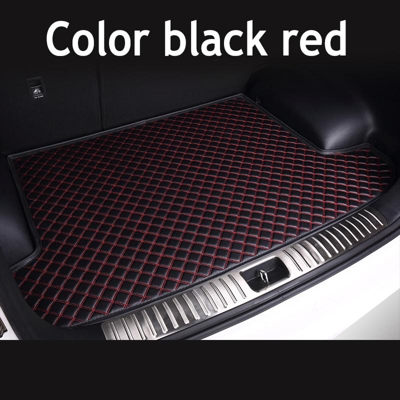 ZHAOYANHUA Custom Fit High Side Car Trunk Mats For BMW 4 Series F32 F33 F36 420i 425i 430i 440i 420i 428i 4 Durable Boot Carpets