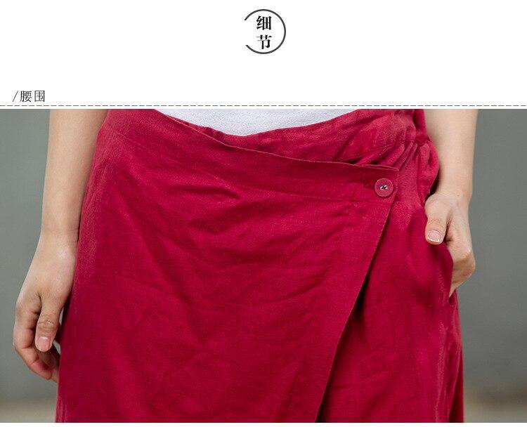 2019 El Amplia Retro fósforo Pierna Reparar Caliente N173 De Primavera Del Pantalones Todo Verano La Mujeres venta Lino Literatura Cuerpo Las Mujer vxnvrYP