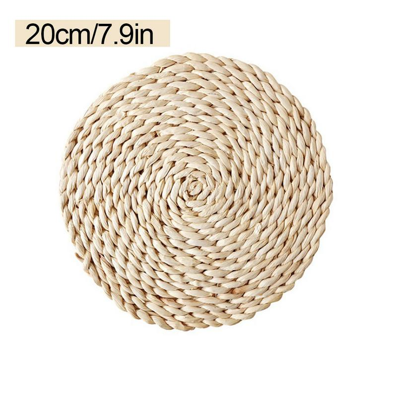 Kitchen,dining & Bar Home & Garden Natural Corn Fur Table Mat Japanese Style Thick Padded Tea Mat Heat-resistant Casserole Pad Cushion