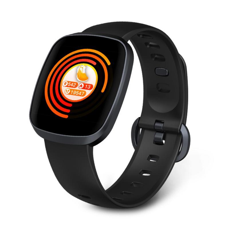 Smart Armband Hartslag Kleurenscherm Waterdichte Bloeddruk Monitoring Positionering Sport Armband Tafel Smart Horloge Elegant En Sierlijk
