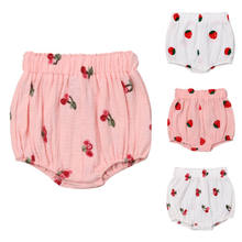 3-18M Newborn Baby Kids Girls Harem Shorts Pants Casual Bottoms Cute PP Bloomers Panties(China)