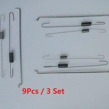 9 шт./3 комплекта, новинка, металлическая дроссельная заслонка, пружинный регулятор, тяга 16555-ZE1-000 16561-ZE1-020, подходит для Honda GX140 GX160 GX200