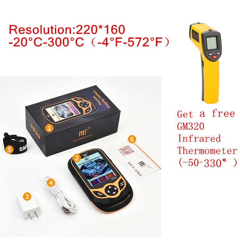 Thermal Camera With Display Screen for Outdoor Hunting Fast 2
