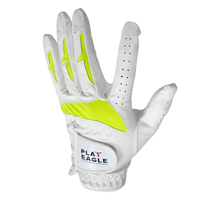 High-performance Women Ladies Golf Single Glove Right / Left Hand Pro Soft Breathable Microfiber PU Sweat Absorbent Glove