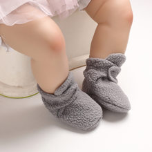 2019 New Casual Baby Girls Boy Winter Warm Boots Newborn Toddler Fleece Fur Soft Sole Crib Shoes 0-18M(China)