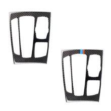 Para BMW X5 X6 F15 F16 2014, 2015, 2016, 2017 de fibra de carbono coche Panel de cambio de marchas cubierta de Marco