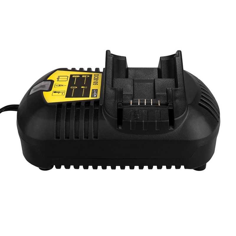 12 V Max En 20 V Max Li-Ion Batterij Oplader 3A Voor Dewalt 10.8 V 12 V 14.4 V 18 V 20 V DCB101 DCB115 DCB107 DCB105 Batterij US Plug