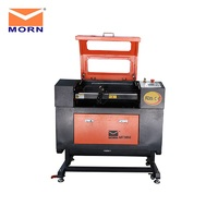 portable aluminum Portable household mini laser cutting engraving machine with electrical lift table and aluminum table (3)