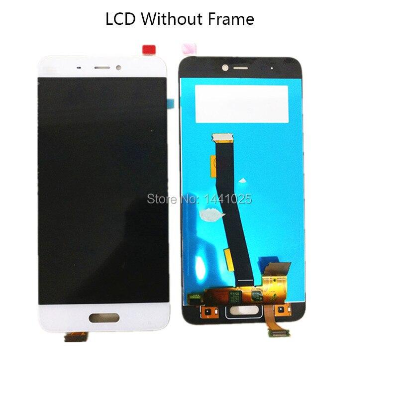 AAA qualité LCD + cadre IPS pour Xiao mi 5 LCD écran tactile 5.15 pouces 1920*1080 pour mi 5 noir blanc doré LCD sans cadre
