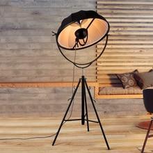 Modern LOFT LED Floor Lamp Classic Lights Photography Light Adjustable Satellite Shape Photo Studio Living Room Stand